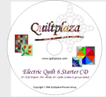 Quiltplaza's Electric Quilt 6 Starter CD Download