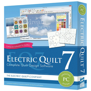 Electric Quilt 7 (PC of MAC versie)